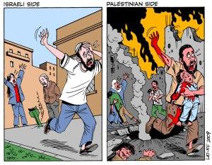 israeli-palestinian-Latuff-Gaza