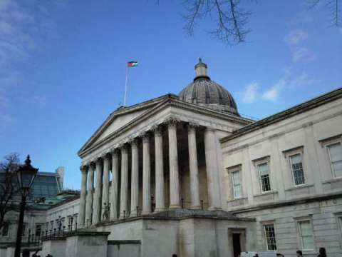 University College London yesterday