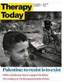 therapy today cover palestine exists resist