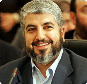 Khalid Mishal, leader of Hamas' political wing