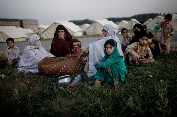 Refugees await uncertain fate in IDP camps