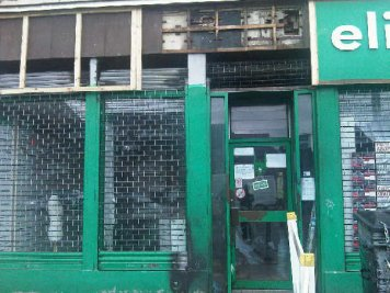 Islamic Relief charity shop badly damaged in arson attack