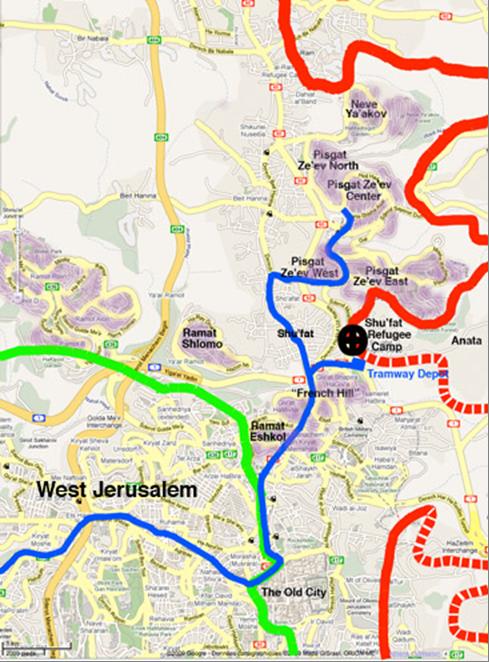 Tramway map Alstom