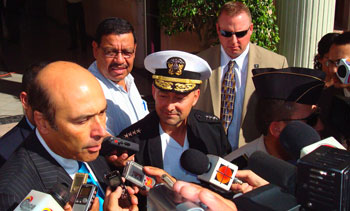 US Ambassador to Honduras Hugo Llorens. (Photo 2009, US Southern Command)