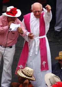 Padre Fausto Milla.
