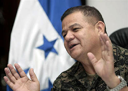 General Romeo Vásquez Velásquez, who contrary to his frequent media appearances has in fact been silent since June 28.