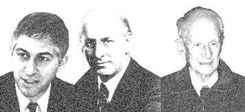 Stuart Levey, Henry Morganthau Jr., Robert Morganthau