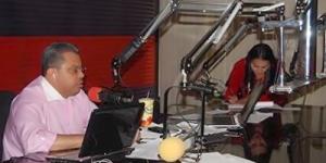 Radio Globo journalist Eduardo Maldonado.