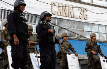Channel 36 TV, Tegucigalpa