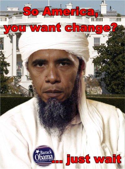 Obama and his Muslim garb