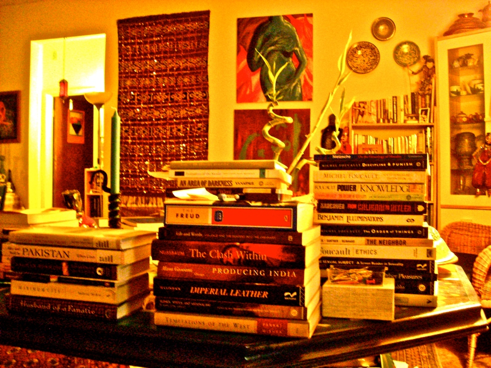 From my desk.  photo credit: Huma Dar, 2007