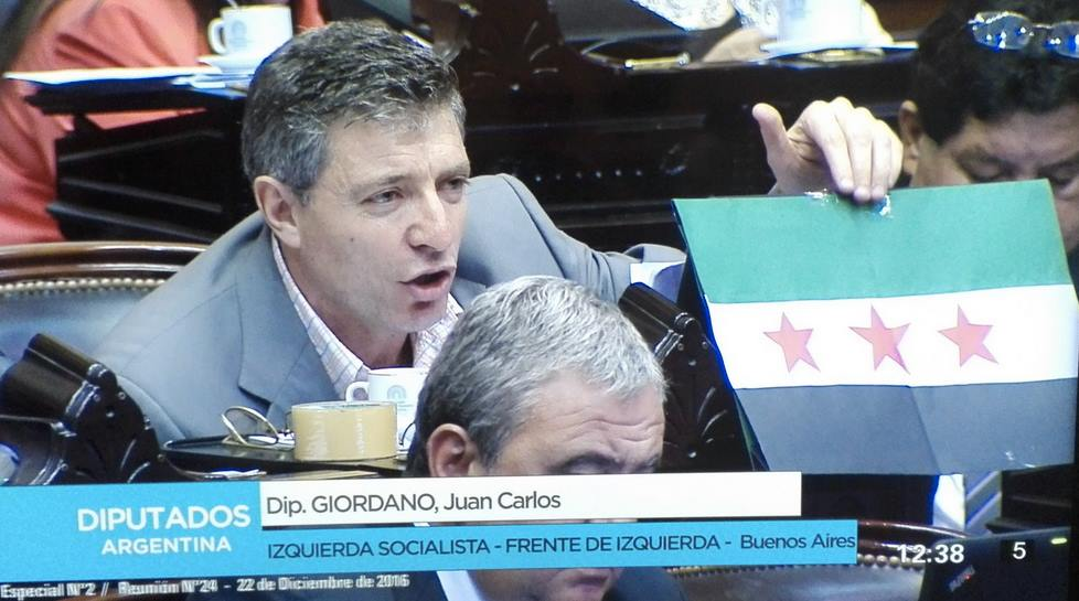Left-wing Argentinian Politician Condemns 'Genocide' inSyria